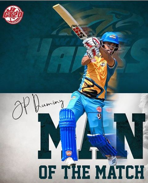 Chris Lynn, Duminy Powered Hawks To Victory Against Vancouver Knights feature image