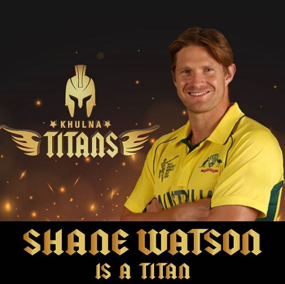 Shane Watson Signed By Khulna Titans For BPL 2019-20 feature image